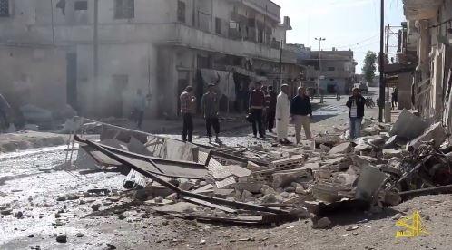 استشهاد طفلة بقصف مدفعي للنظام على تلبيسة بريف حمص