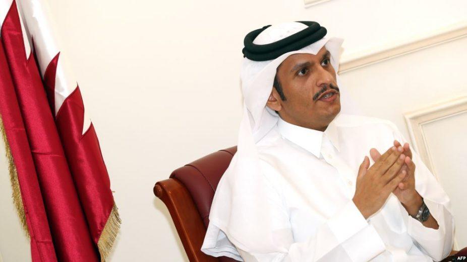 وزير الخارجية القطري نظام الإجرام