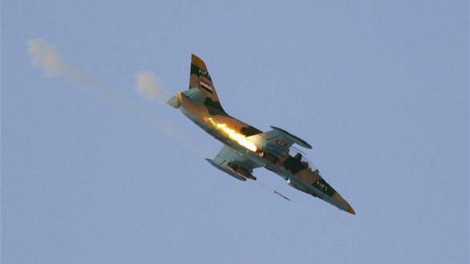 طيران الإحتلال الروسي يرتكب مجزرة