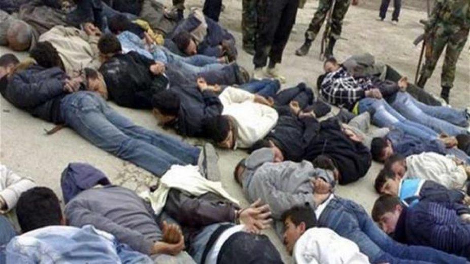 مقتل شخصاً التعذيب جلادي الإجرام
