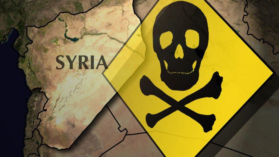 منظمة الأسلحة الكيميائية الطيران الأسدي